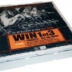 conan village roadshow photo print pizza box advertising