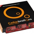 cellarbrations pizza box advertising
