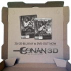 conan village roadshow inside printing pizza box advertising