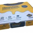 RACWA promo pizza box