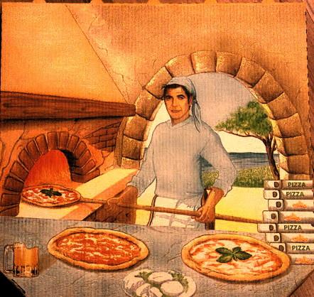 George Clooney pizza box