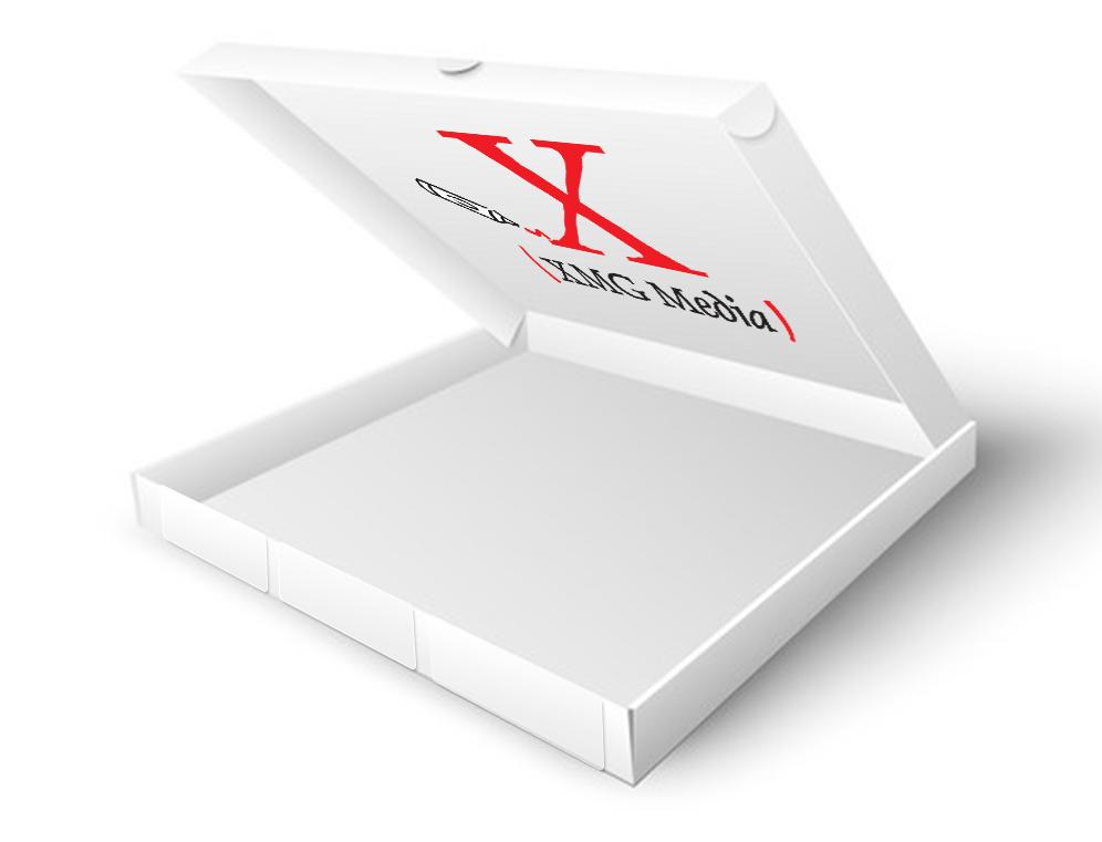 Inside Lid pizza box advertsising